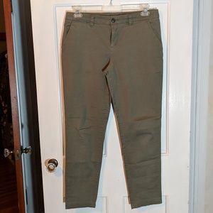GAP Broken-in Straight Khaki Pants